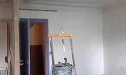 peinture interieure mur plafond